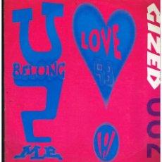 Discos de vinilo: LOVE '93 - U BELONG 2 ME - MAXI SINGLE 1993 - ED. ALEMANIA. Lote 270118228