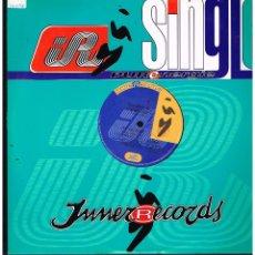 Discos de vinilo: TOHONY B - IT'S ALL RIGHT - MAXI SINGLE 1995 - ED. ITALIA. Lote 270118773