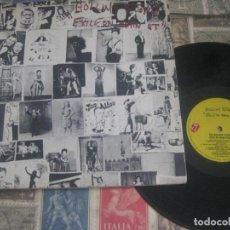 Discos de vinilo: ROLLING STONES. EXILE ON MAIN STREET. 2 LP .GATEFOLD. ( 1972 LENGUA COC 2-2900). OG ESPAÑA LEA DESCR. Lote 270120238