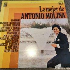 Discos de vinilo: LO MEJOR DE ANTONIO MOLINA VOL.4 (LP, 1977, EMI). Lote 270120493
