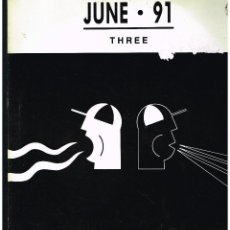 Discos de vinilo: JUNE 91 THREE - MAXI SINGLE 1991 - ED. UK. Lote 270120518