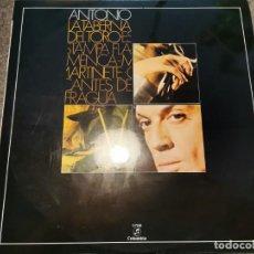Discos de vinilo: ANTONIO Y CUERPO DE BAILE - LA TABERNA DEL TORO (LP COLUMBIA 1958 RF-1218). Lote 270120643