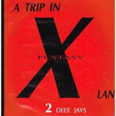 Discos de vinilo: 2 DEEE JAYS - A TRIP IN ECSTASY LAND - MAXI SINGLE 1993 - ED. ESPAÑA. Lote 270122198
