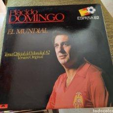 Discos de vinilo: PLACIDO DOMINGO - EL MUNDIAL. Lote 270128578