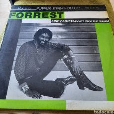 Discos de vinilo: FORREST - ONE LOVER ( DON'T STOP THE SHOW ). Lote 270130388