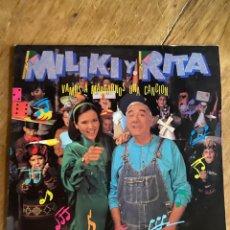 Discos de vinilo: VINILO MILIKY Y RITA IRASEMA - VAMOS A MARCARNOS UNA CANCIÓN- 1991. Lote 270140863