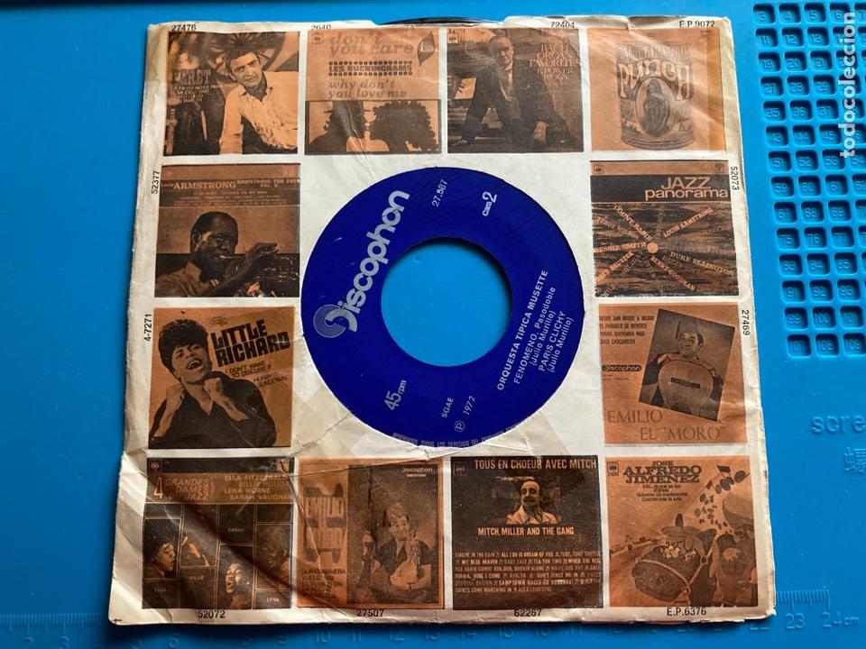 Discos de vinilo: ORQUESTA TIPICA MUSETTE-NOCHE EN LA PLAYA-SG-1972. Carátula promocional - Foto 2 - 270140898