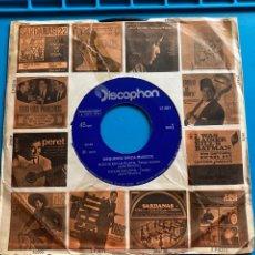 Discos de vinilo: ORQUESTA TIPICA MUSETTE-NOCHE EN LA PLAYA-SG-1972. CARÁTULA PROMOCIONAL. Lote 270140898