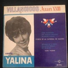Discos de vinilo: YALINA AÑOS 1960 EN MUY BUEN ESTADO. Lote 270143608