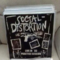 Discos de vinilo: SOCIAL DISTORTION - LIVE IN '83 - PRACTICE SESSION LP MISFITS METALLICA PANTERA SAXON AC DC. Lote 270145823