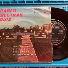 Discos de vinilo: PABLO BELTRAN RUIZ Y SU ORQUESTA. EP 4 CANCIONES 1961 33RPM. Lote 270147518
