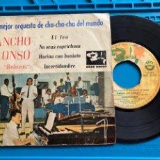 Discos de vinilo: PANCHO ALONSO Y SUS BOLUCOS - 1963 - LA MEJOR ORQUESTA DE CHA CHA CHA DEL MUNDO - CUBA. Lote 270148413