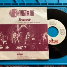 Discos de vinilo: SANGTRAÏT – NO RECORDO---SINGLE PROMO 1 TEMA. Lote 270149328