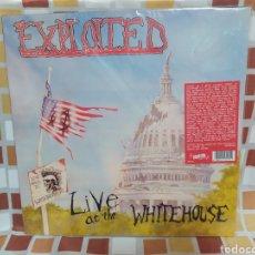 Discos de vinilo: THE EXPLOITED–LIVE AT THE WHITEHOUSE. LP VINILO NUEVO. EDICIÓN OFICIAL GATEFOLD.. Lote 270158393