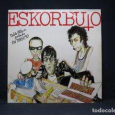 Discos de vinilo: ESKORBUTO - IMPUESTO REVOLUCIONARIO - DOBLEA ALBUM GRABADO EN DIRECTO - 2 LP. Lote 270159673