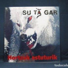 Discos de vinilo: SU TA GAR - HORTZAK ESTUTURIK - LP. Lote 270161133