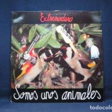 Discos de vinilo: EXTREMODURO - SOMOS UNOS ANIMALES - LP. Lote 270161953