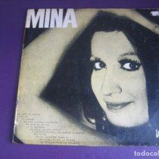 Discos de vinilo: MINA . LP FERMATA 1965 ARGENTINA - RECOPILACION EXITOS 1ª EPOCA - ITALIA POP ROCK 60'S. Lote 270168873