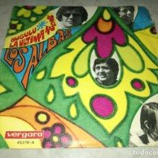 Discos de vinilo: LOS ALBAS-BUGULU-ORIGINAL AÑO 1968. Lote 270169393