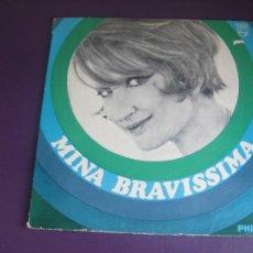 Discos de vinilo: MINA - BRAVISSIMA - LP PHILIPS 1966 MONO - ARGENTINA - VINILO CON USO, NADA GRAVE - ITALIA POP 60'S. Lote 270169583