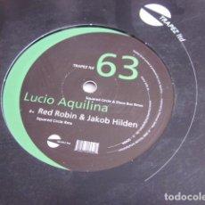 "Discos de vinilo: LUCIO AQUILINA - SQUARED CIRCLE & DISCO BUS RMXS (12""). Lote 270173028"