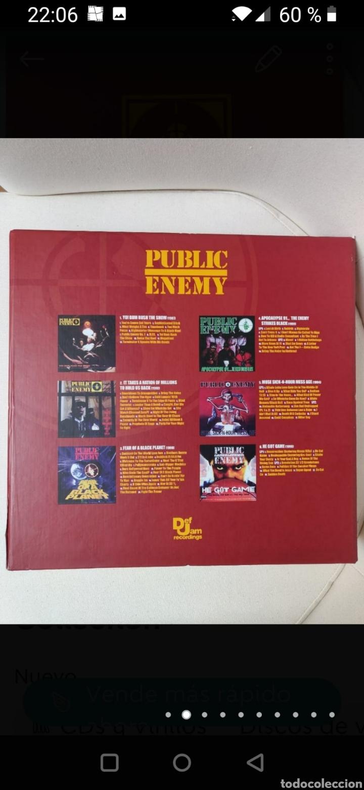Discos de vinilo: Public Enemy 25th Anniversary Vinyl Collection - Foto 2 - 270187238