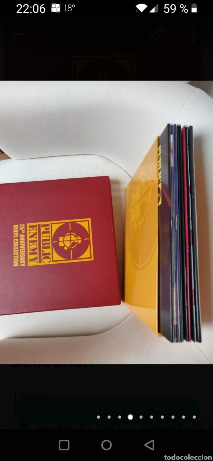 Discos de vinilo: Public Enemy 25th Anniversary Vinyl Collection - Foto 3 - 270187238