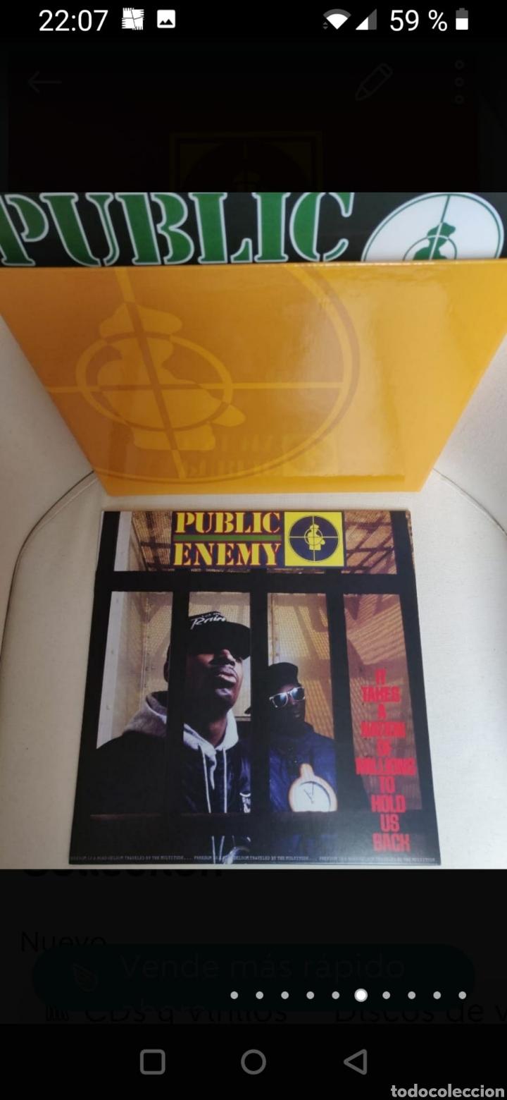 Discos de vinilo: Public Enemy 25th Anniversary Vinyl Collection - Foto 6 - 270187238