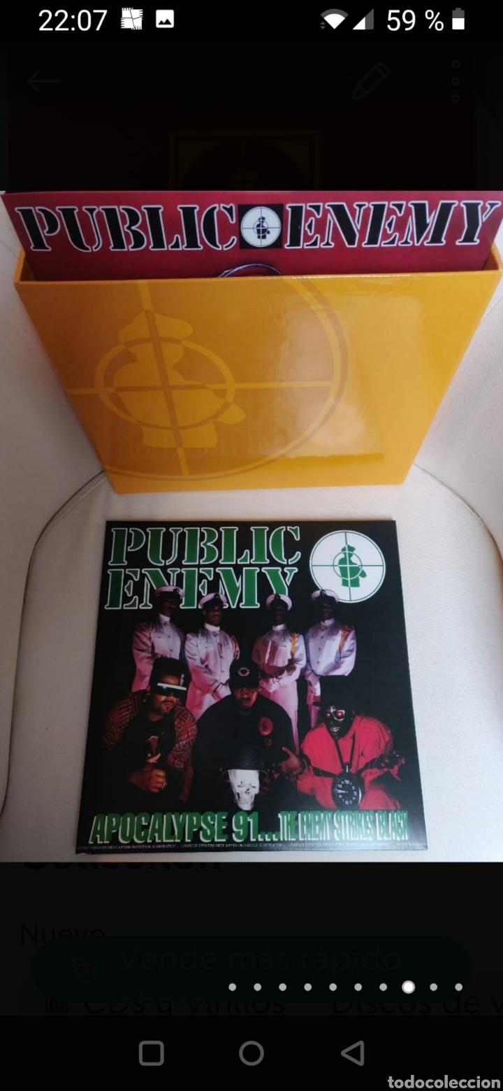 Discos de vinilo: Public Enemy 25th Anniversary Vinyl Collection - Foto 10 - 270187238