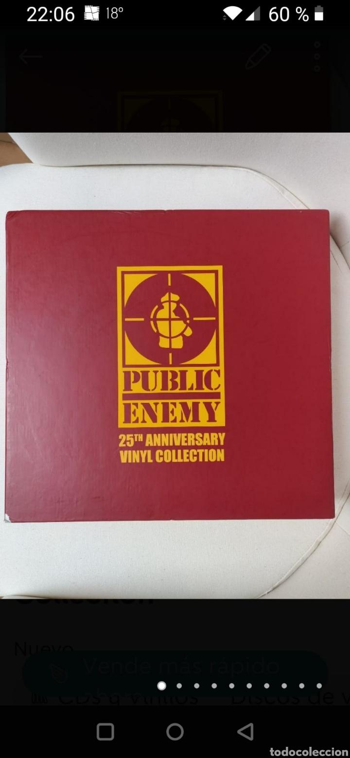 PUBLIC ENEMY 25TH ANNIVERSARY VINYL COLLECTION (Música - Discos - LP Vinilo - Rap / Hip Hop)