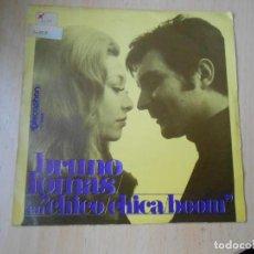 Discos de vinilo: BRUNO LOMAS, SG, CHICO, CHICA, BOOM + 1 AÑO 1969. Lote 270195208