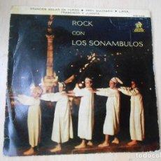 Disques de vinyle: SONAMBULOS, LOS, EP, GRANDES BOLAS DE FUEGO + 3, AÑO 1961. Lote 270196283