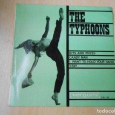 Discos de vinilo: TYPHOONS, THE, EP, BITS AND PIECES + 3, AÑO 1964. Lote 270197173