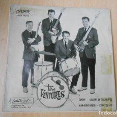 Discos de vinilo: VENTURES, THE, EP, GINCHY + 3, AÑO 1961. Lote 270198318