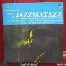 Discos de vinilo: GURU JAZZMATAZZ VOLUME 1 (AN EXPERIMENTAL FUSION OF HIP-HOP AND JAZZ)LP VINILO NUEVO.. Lote 270207683