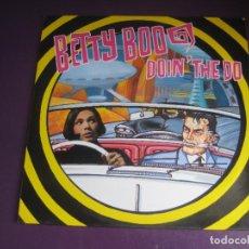 Discos de vinilo: BETTY BOO – DOIN THE DO - MAXI SINGLE DRO 1990 - ELECTRONICA DISCO POP HOUSE - DIRIA Q SIN ESTRENAR. Lote 270216868