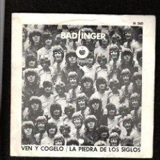 Discos de vinilo: BADFINGER: GRUPO APPLE BEATLES- SINGLE APPLE RECORDS 1970- OPORTUNIDAD COLECCIONISTAS. Lote 270230613