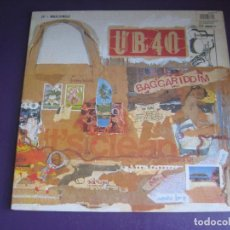 Dischi in vinile: UB40 – BAGGARIDDIM - LP + MAXI 1985 - SIN APENAS USO - REGGAE DUB -. Lote 270240553