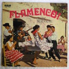 Discos de vinilo: LP VINILO FLAMENCO, JOSÉ MENESES, EDICIÓN ALEMANA. Lote 270242788