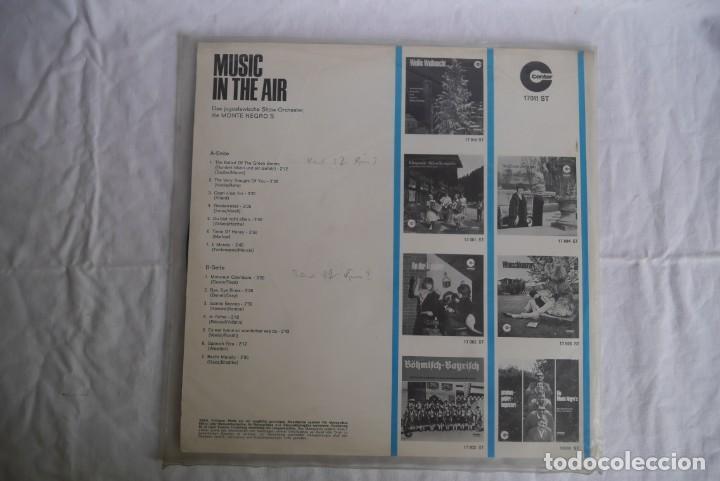 Discos de vinilo: LP vinilo Music in the air, Orquesta Monte Negros - Foto 2 - 270243153