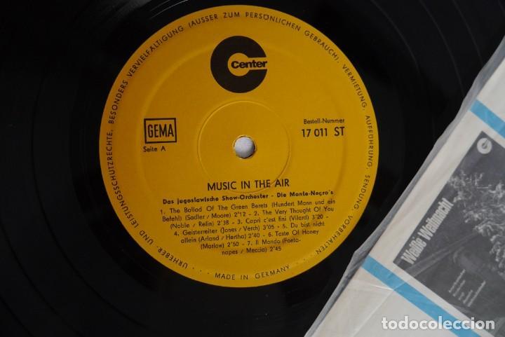 Discos de vinilo: LP vinilo Music in the air, Orquesta Monte Negros - Foto 4 - 270243153