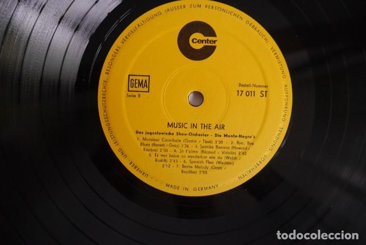 Discos de vinilo: LP vinilo Music in the air, Orquesta Monte Negros - Foto 5 - 270243153