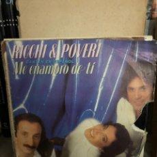Discos de vinilo: RICCHI & POVERI ME ENAMORO DE TI CANTAN EN ESPAÑOL. Lote 270255478