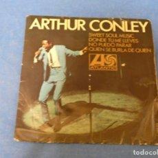 "Discos de vinilo: DISCO 7 PULGADAS EP 7"" ARTHUR CONLEY SWEET SOUL MUSIC ESTADO RAZONABLE. Lote 270259113"