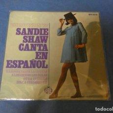 Discos de vinilo: DISCO 7 PULGADAS EP SANDIE SHAW CANTA EUROVISION 67 BUEN ESTADO. Lote 270259208