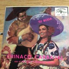 Discos de vinilo: CHINACO CARBAJAL Y WALDEMAE GOMES EL MARIACHI. Lote 270259393