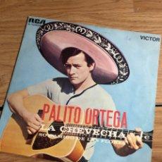 Discos de vinilo: PALITO ORTEGA LA CHEVECHA. Lote 270259473