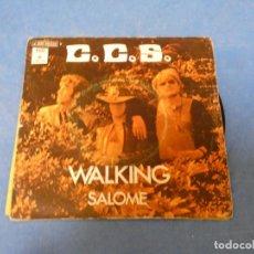 Discos de vinilo: DISCO 7 PULGADAS C.C.S WALKING SALME BUEN ESTADO GENERAL. Lote 270261988