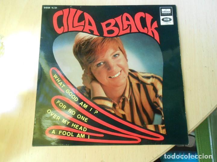 CILLA BLACK, EP, WHAT GOOD AM I ? + 3, AÑO 1967 (Música - Discos de Vinilo - EPs - Pop - Rock Internacional de los 50 y 60)