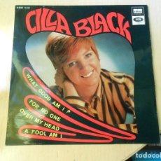 Discos de vinilo: CILLA BLACK, EP, WHAT GOOD AM I ? + 3, AÑO 1967. Lote 270343163
